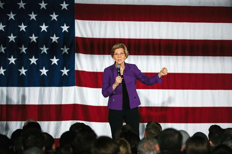 Sen. Elizabeth Warren, D-Mass., has laid out a proposal promising free public college and debt clearance for the majority of student loan holders. Her plan would most benefit the wealthiest students while not providing enough to those who most need help. Photo: Gabriela Bhaskar / New York Times