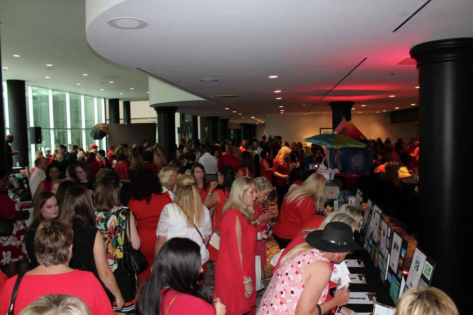 The 2019 Northwest Harris County Go Red For Women Luncheon was held Friday, May 3, 2019, at The Omni Houston Hotel at Westside. Thousands of dollars were raised to help raise awareness of heart disease in women. Photo: Roy Kent / Staff Photo