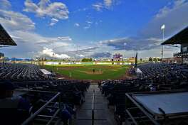 General view of Security Bank Ballpark during the baseball game between Midland High and El Paso Montwood May 3, 2019. James Durbin/Reporter-Telegram
