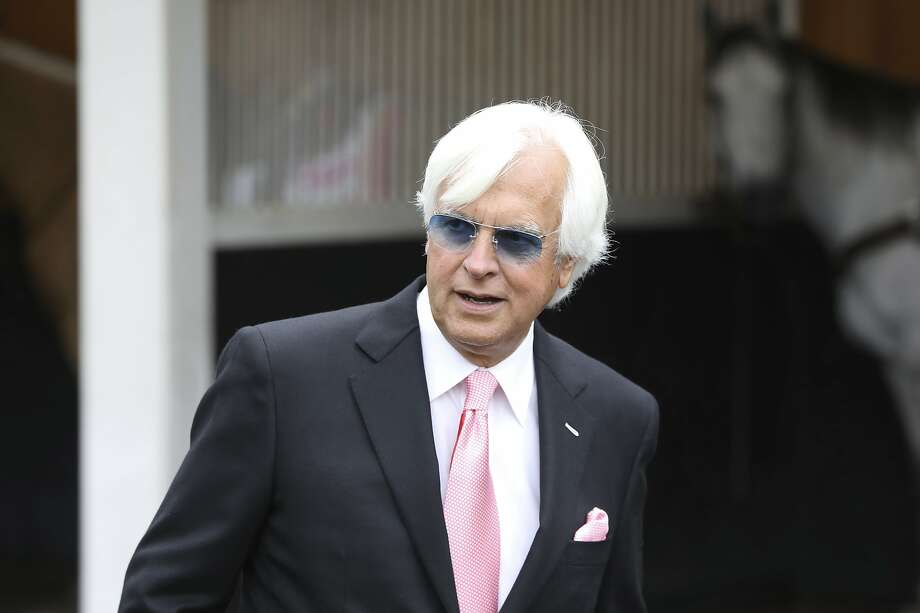 Trainer Bob Baffert is seen at Churchill Downs Friday, May 3, 2019, in Louisville, Ky. Baffert will saddle three runners in the 145th running of the Kentucky Derby, scheduled for Saturday, May 4. (AP Photo/Gregory Payan) Photo: Gregory Payan, Associated Press