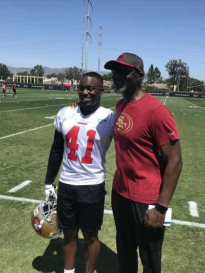 Following in dad's footsteps leads Jordan Holland to 49ers' rookie camp