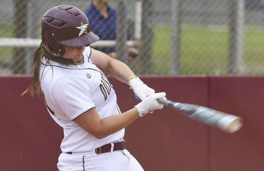 Maddison Schofield and the Dustdevils' season came to an end in the league semifinals falling 7-6 to LCU. Photo: Danny Zaragoza / Laredo Morning Times File / Laredo Morning Times