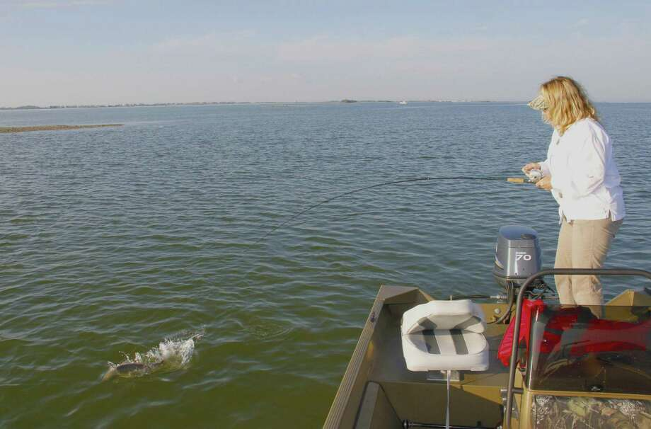 A steady stream of freshwater runoff from the rain-swollen Trinity River has plagued inshore fish and fishing in parts of Galveston Bay since autumn, and recent rains promise to continue tormenting anglers with low salinity levels and murky water. Photo: Shannon Tompkins / Houston Chronicle