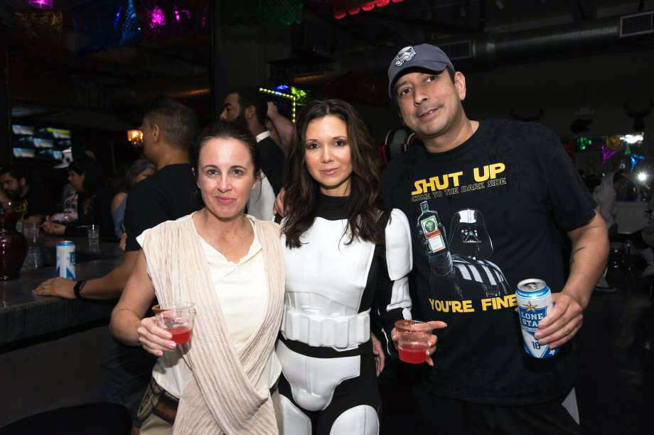 Star Wars fans ran amok at downtown pubs and bars Friday night in anticipation of May the 4th during the monthly, boozy Pub Run. Photo: Aiessa Ammeter For MySA