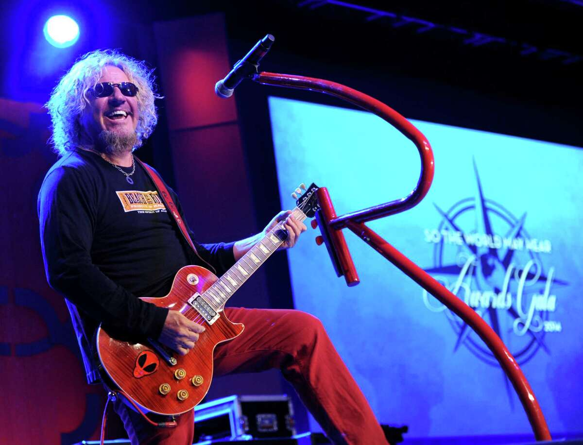 Musician Sammy Hagar is scheduled to perform at Saratoga Performing Arts Center in August with The Circle, as well as Night Ranger and Whitesnake.
