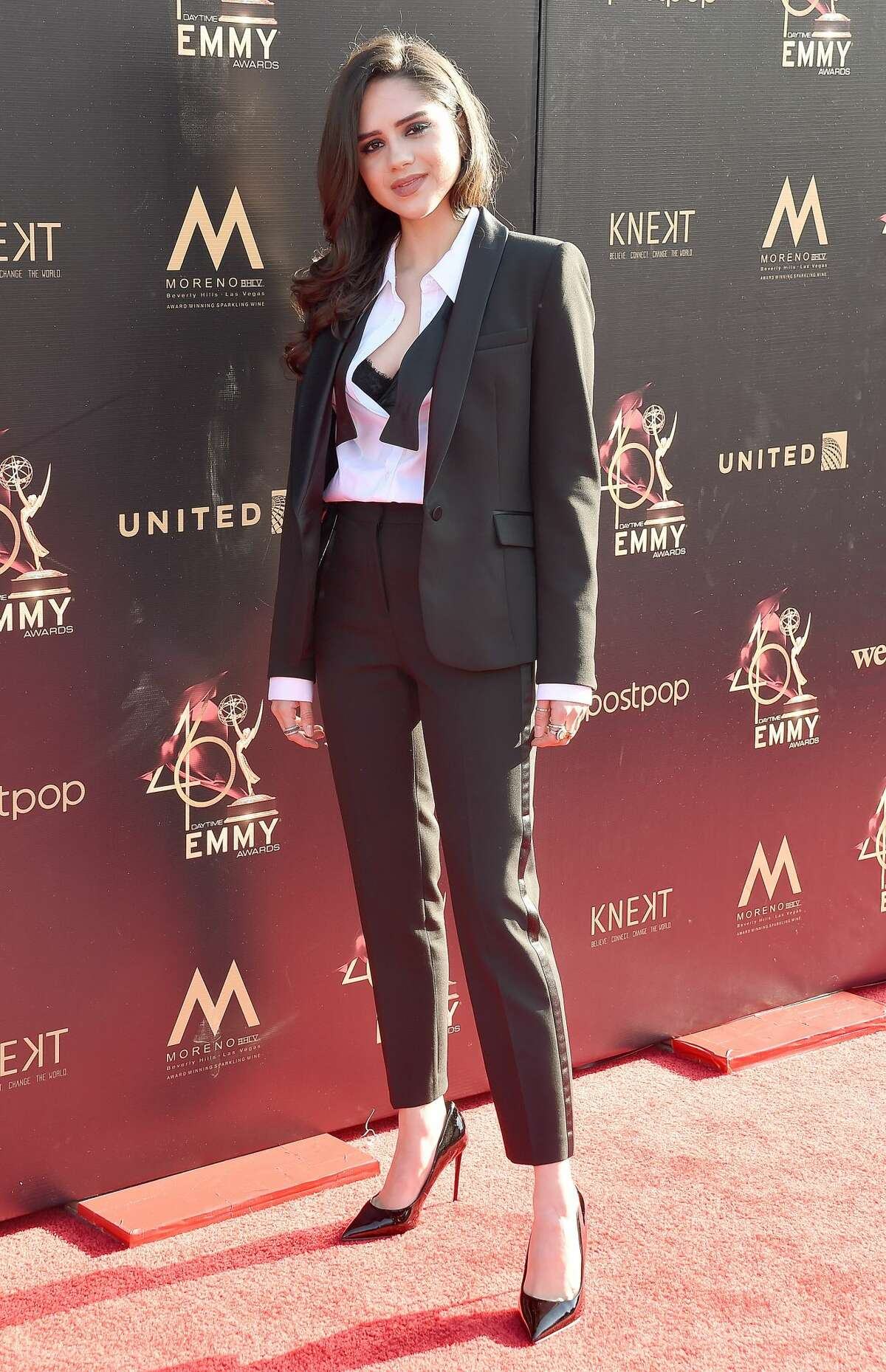 PASADENA, CA - MAY 03: Sasha Calle arrives at the 46th Annual Daytime Creative Arts Emmy Awards at Pasadena Civic Center on May 3, 2019 in Pasadena, California. (Photo by Gregg DeGuire/Getty Images)