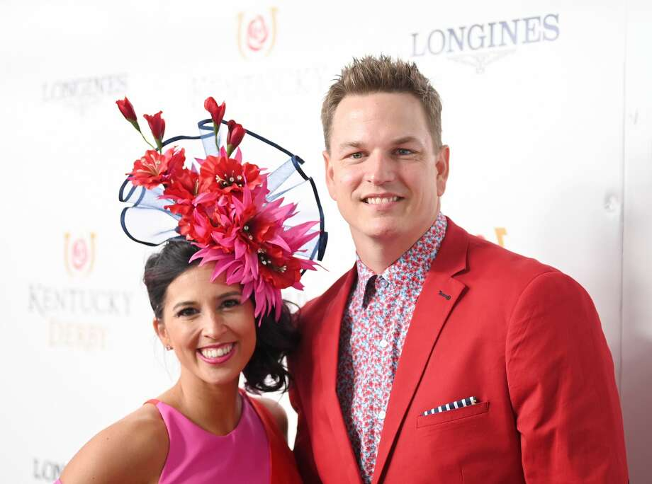 LOUISVILLE, KENTUCKY - MAY 04:   Joey Wagner (R) attends the 145th Kentucky Derby at Churchill Downs on May 04, 2019 in Louisville, Kentucky. (Photo by Jason Kempin/Getty Images for Churchill Downs) Photo: Jason Kempin/Getty Images For Churchill Downs