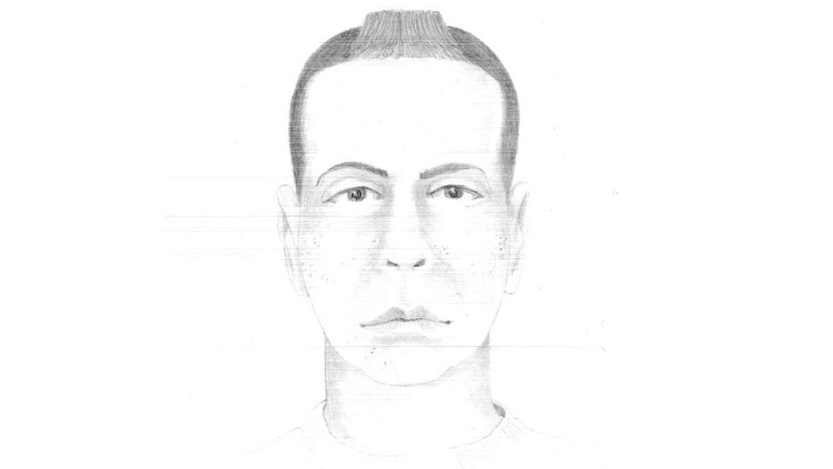 Stamford Police provided this sketch of a suspect in an attempted abduction.