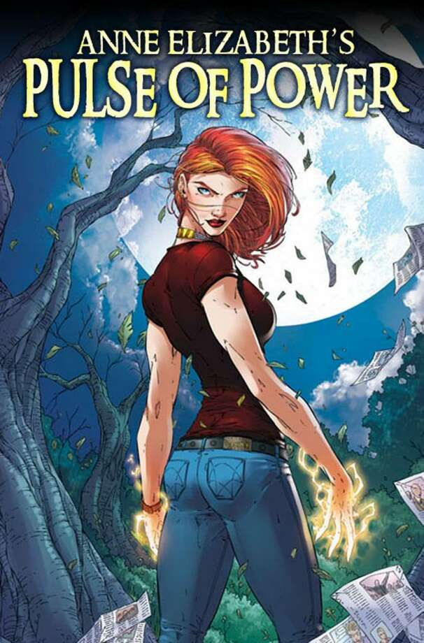 "Former Greenwich resident Anne Elizabeth's new graphic novel ""Pulse of Power"" is  based in Greenwich and features a female superhero. ""I'm a big believer in empowerment,"" says Elizabeth. Photo: Contributed Photo / Greenwich Citizen"