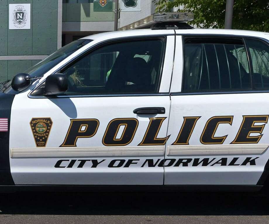 File photo of a Norwalk, Conn., police cruiser. Photo: Erik Trautmann / Hearst Connecticut Media / Norwalk Hour