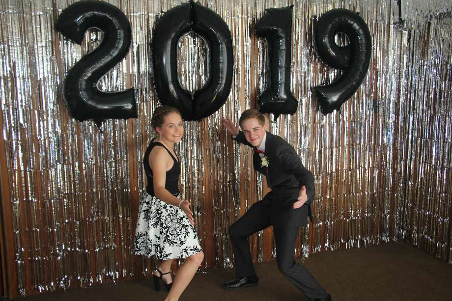"Owendale-Gagetown celebrated its 2019 prom with the theme ""Winter Wonderland."" Ironically, it was all sun and blue skies for attendees of the historic occasion. Photo: Seth Stapleton"