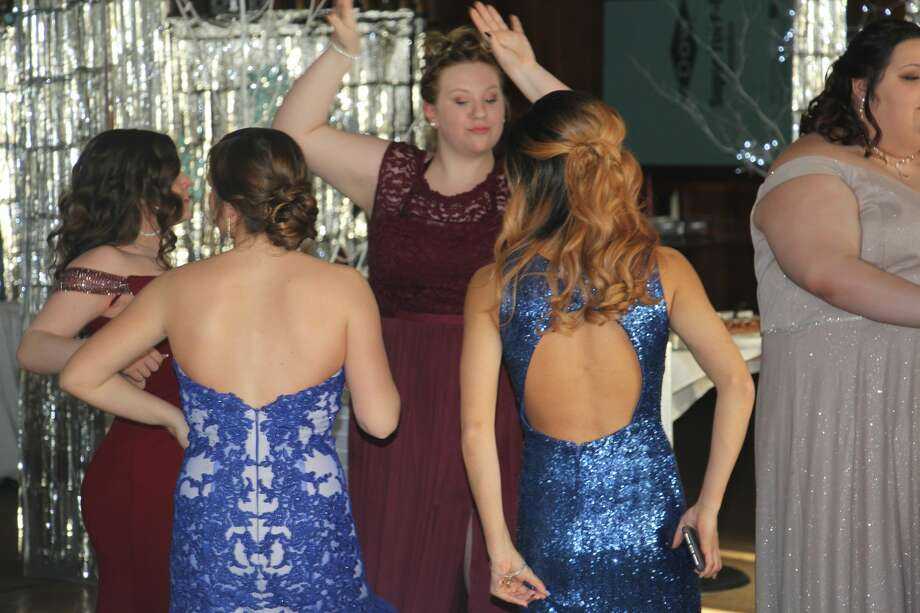 """Owendale-Gagetown celebrated its 2019 prom with the theme """"Winter Wonderland."""" Ironically, it was all sun and blue skies for attendees of the historic occasion. Photo: Seth Stapleton"""