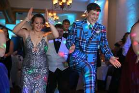 Scenes from North Huron's prom Saturday night, which was held at the Pasta House in Kinde.