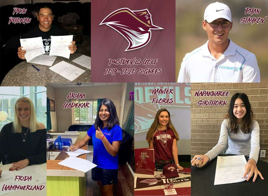 TAMIU announced the signings of six golfers for the 2019-20 season Friday as two joined the men's team and four signed with the women's team. Photo: Courtesy Of TAMIU Athletics