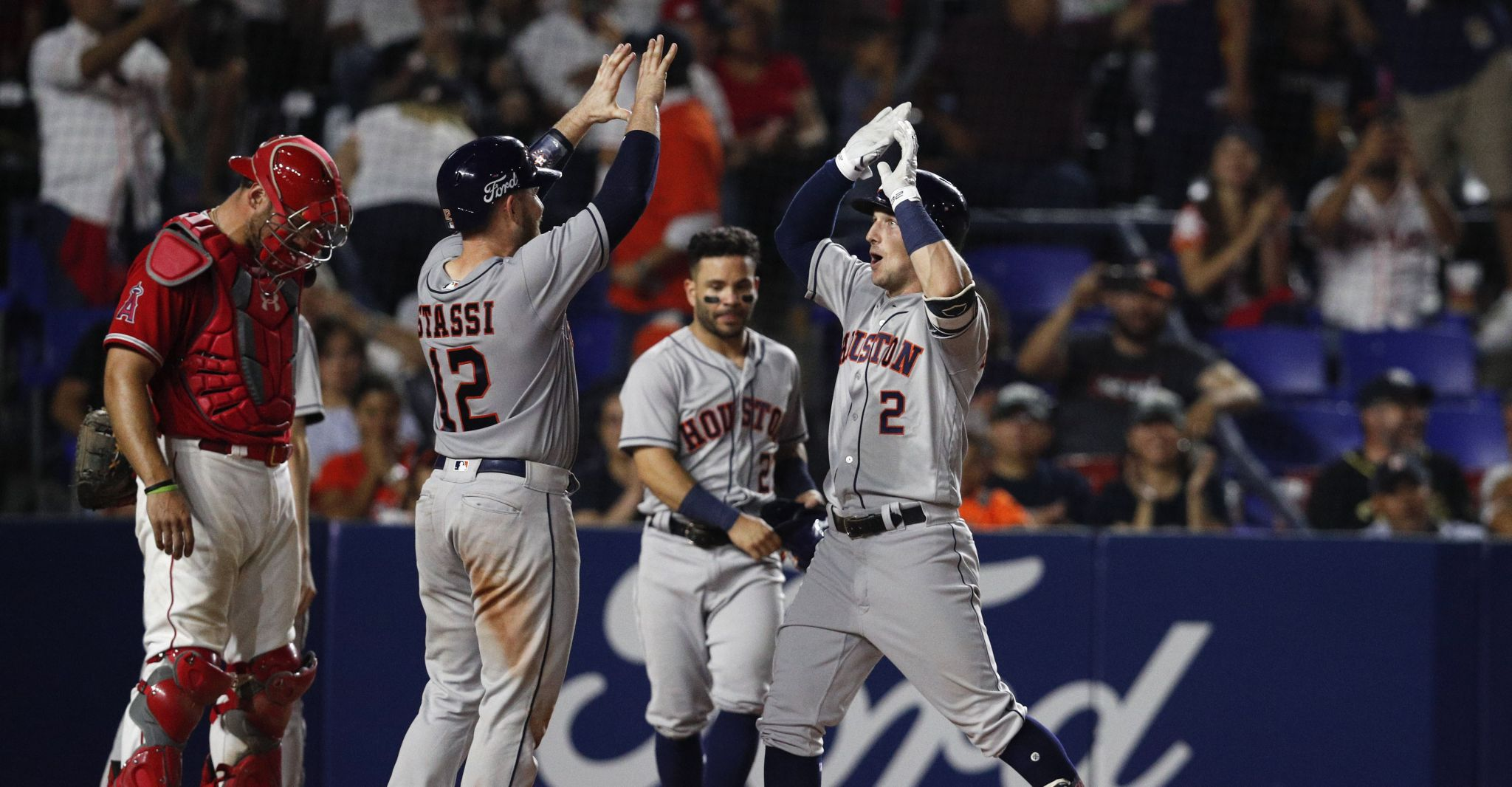 decd20637 Astros rout Angels to open Monterrey series – Health Breaking News