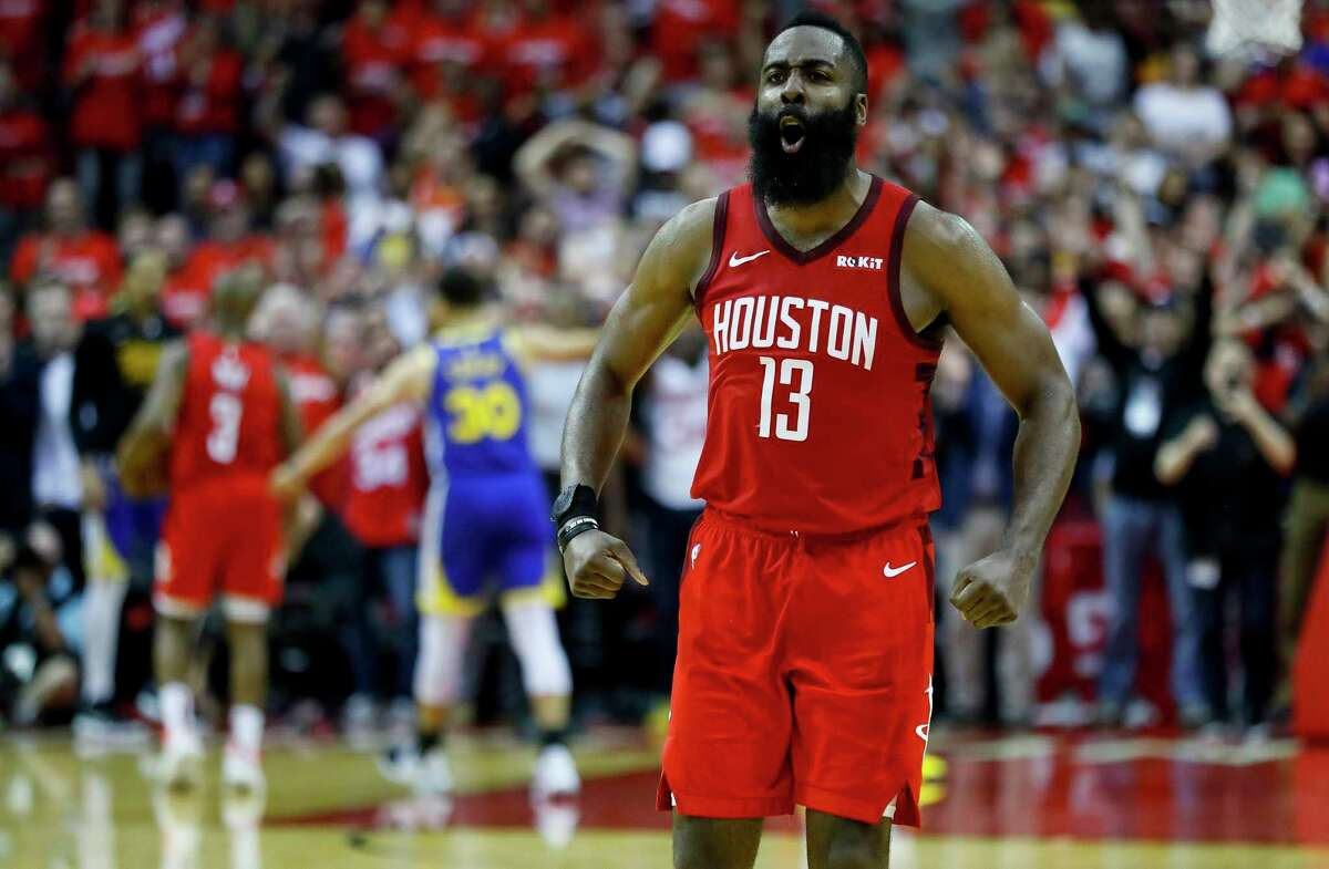 James Harden and the Rockets had their moments but could never get over the hump.