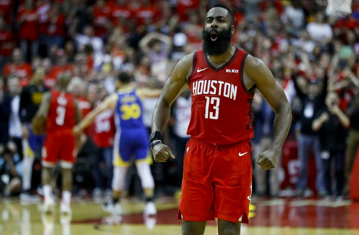 THE BEST 2019, Game 3: Rockets 126, Warriors 121 (OT) James Harden: 41 points (14-32 shooting, 5-13 from 3-point line), 9 rebounds, 6 assists
