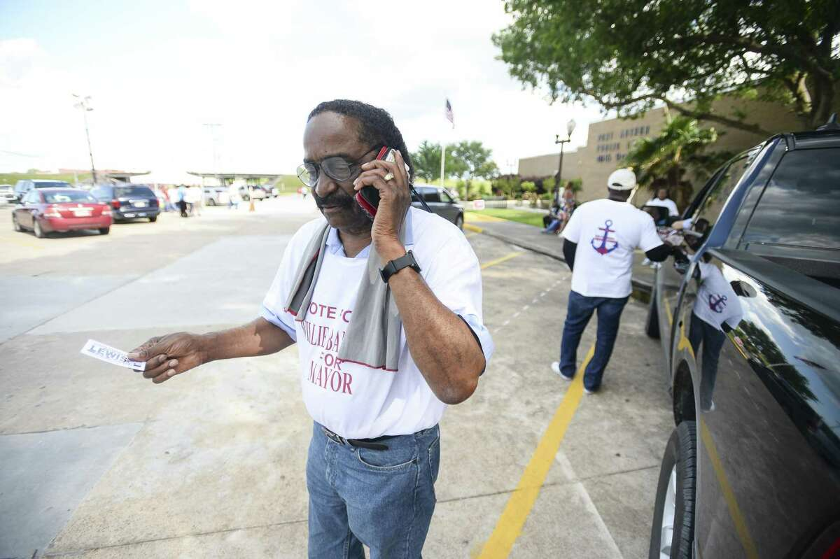Port Arthur Mayoral candidate Willie