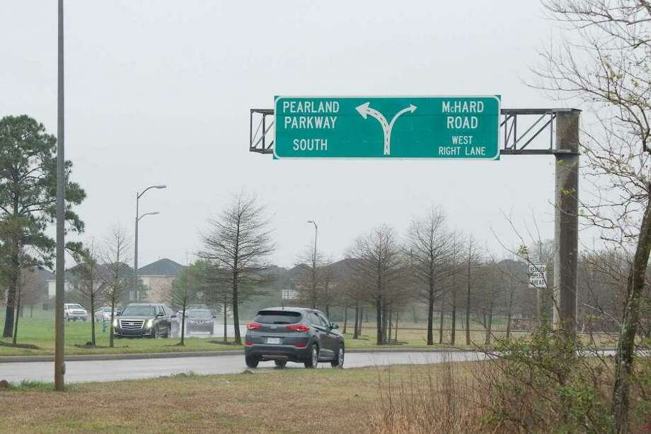 A city of Pearland bond proposition approved by voters on May 4 authorizes funding for a project to improve the Pearland Parkway traffic circle.