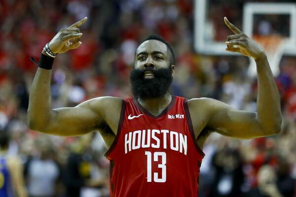 ded82e5a114f 1of26PHOTOS  James Harden best and worst games in the playoffs James Harden  stepped up big in the Rockets  Game 3 win over the Warriors with a couple  huge ...
