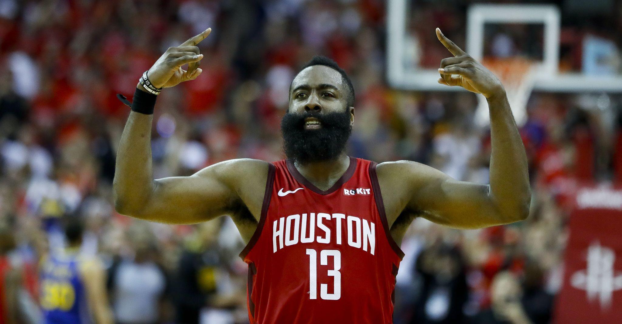 b07d6dd19da9 Mythbusting the  PlayoffHarden fallacy about Rockets star - Houston  Chronicle