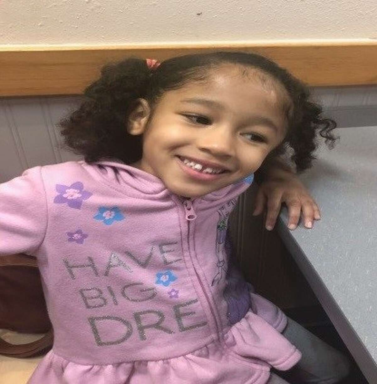 Police are looking for a 5-year-old who was possibly taken on Saturday by three men in north Houston, according to a news release from the Houston Police Department.