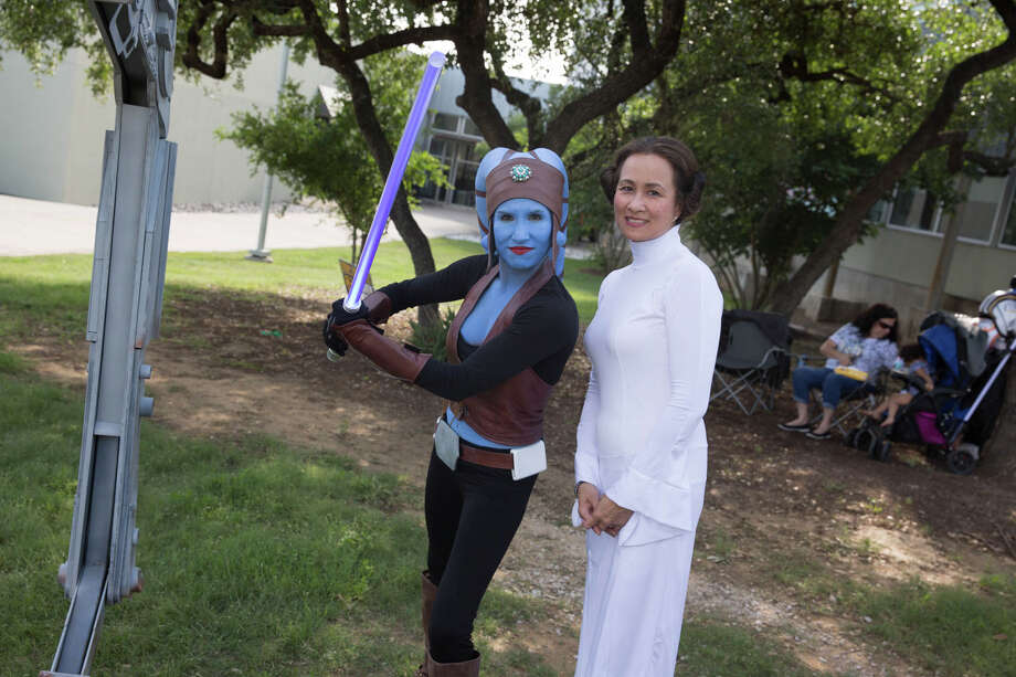 "San Antonio traveled to a galaxy far, far away on Saturday, May 4, 2019, when Northwest Vista College presented ""May the 4th be with you"" and the ""Wookiee Walk"" events. Photo: B Kay Richter For MySA.com"