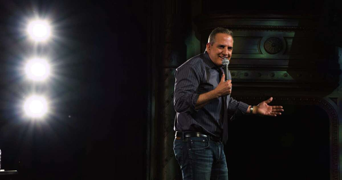 Nick Di Paolo performs at Cohoes Music Hall in February during a performance that was taped for his new special,