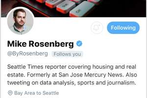 Seattle Times journalist Mike Rosenberg has deactivated his Twitter account after allegations of inappropriately messaging another journalist in a direct message.  Talia Jane, a Brooklyn-based journalist, first started a thread early Sunday morning, detailing an initially anonymous Twitter user who began asking her about her job prospects, before quickly pivoting to sexually charged messages.