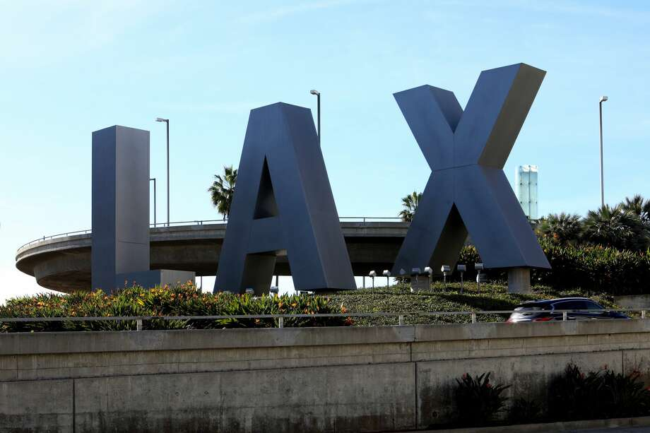 Health officials say individuals who were at LAX Terminal 2 on April 30 from 7:45-11:45 p.m. or May 1 from 7:10 a.m. to 9:30 a.m. may be at risk of developing measles up to 21 days after being exposed. Others at risk are those who were on the LAX employee shuttle on April 30 from 7:30-9:30 p.m. and May 1 from 9:30-11:30 a.m. Photo: Raymond Boyd/Getty Images