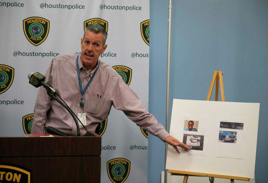 HPD Sgt. Mark Holbrook gives an update about Maleah Davis, a five-year-old girl missing since Saturday night, during a press conference at the Houston Police Department headquarters in downtown, Sunday, May 5, 2019. Photo: Annie Mulligan, Contributor / © 2019 Annie Mulligan / Houston Chronicle