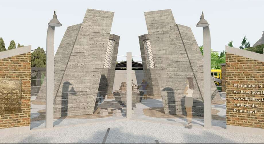 A new rendering of the proposed Capital District Jewish Holocaust Memorial that was posted on the Town of Niskayuna's website in spring 2019. Photo: Town Of Niskayuna