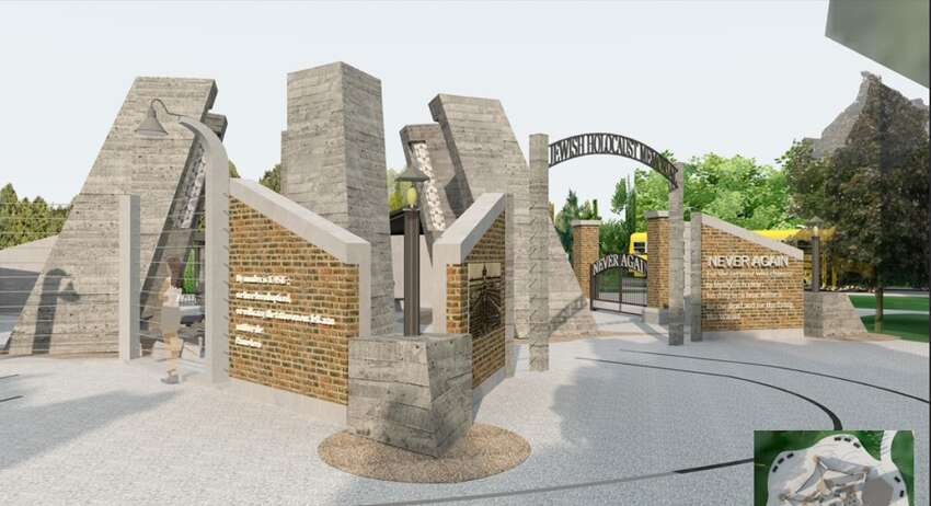 A new rendering of the proposed Capital Region Jewish Holocaust Memorial that was posted on the Town of Niskayuna's website in spring 2019.