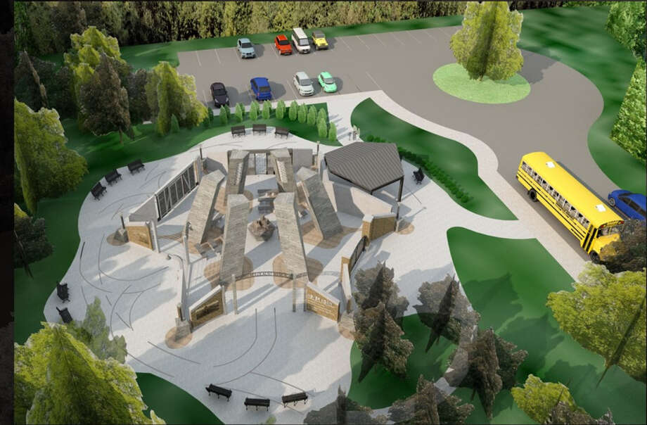 A new rendering of the proposed Capital Region Jewish Holocaust Memorial that was posted on the Town of Niskayuna's website in spring 2019. Photo: Town Of Niskayuna