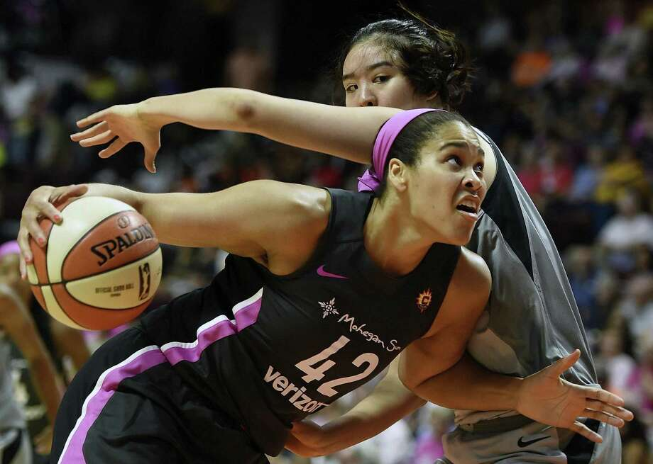 Brionna Jones could emerge as a major player for the Connecticut Sun after playing sparingly in her first two WNBA seasons. Photo: Sean D. Elliot / Associated Press / 2018 The Day Publishing Company