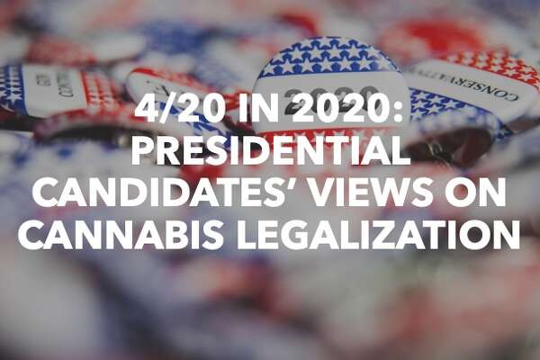 4/20 in 2020: Presidential candidates' views on cannabis