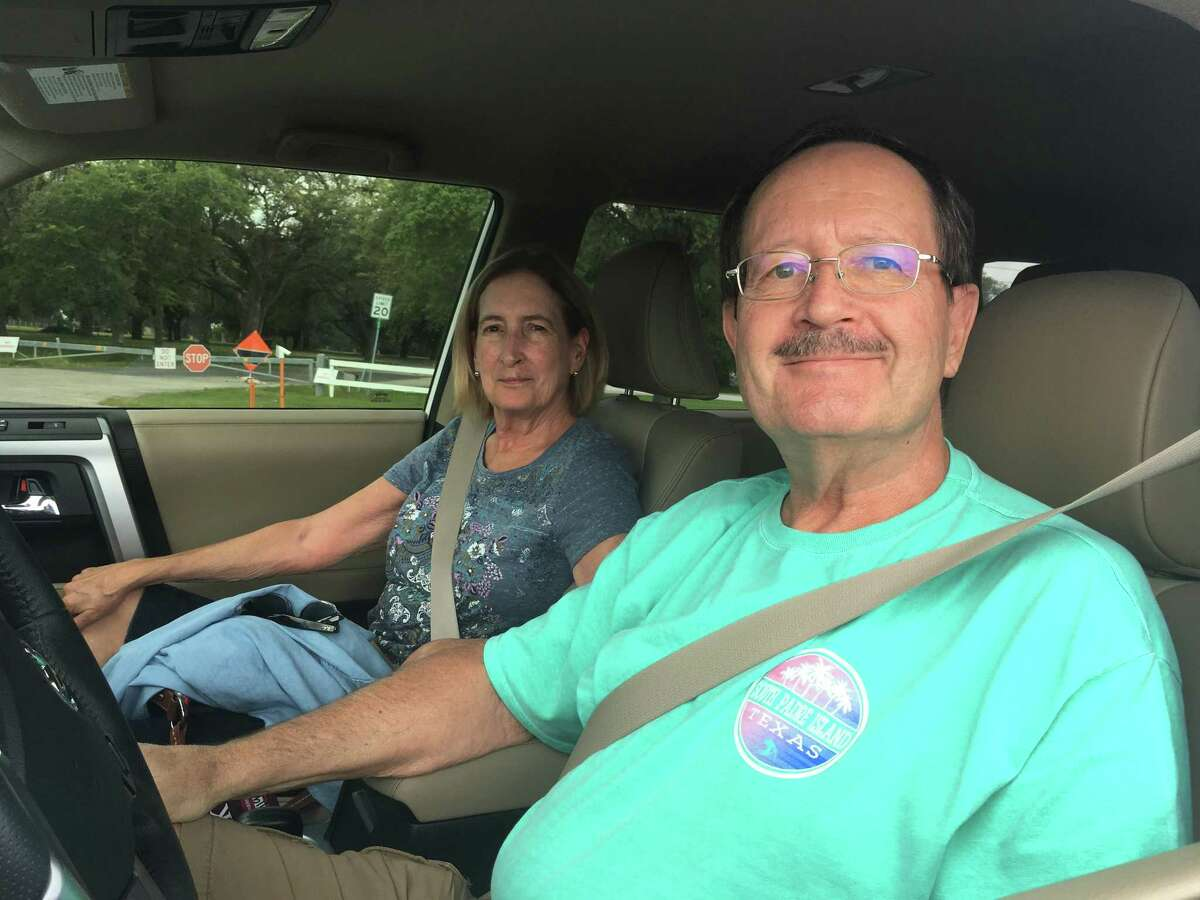 Ken and Deborah Colmark of McAllen drove by April 30, 2019 hoping to see the USS Texas and were disappointed to find the park was closed.The San Jacinto Battleground state historic site and museum will reopen May 8, 2019, six weeks after a Deer Park chemical fire forced it to close at a cost of hundreds of thousands of dollars and more than 70,000 visitors.