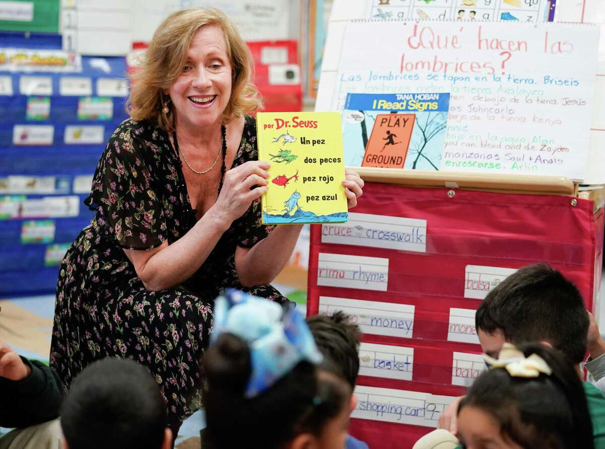 Andrea Greimel, a teacher at the Caravajal Early Childhood Education Center in the San Antonio ISD, was honored in the 2019 H-E-B Excellence in Education Awards. Photo courtesy H-E-B