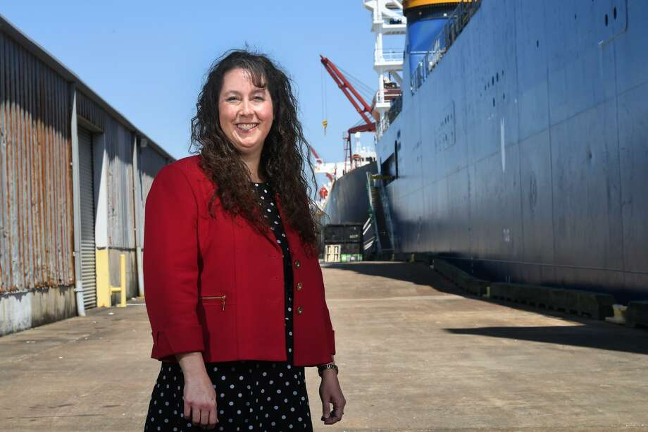 Appointed earlier this month, Lorrie Taylor is said to be the Port of Orange's first female director. Taylor was the organization's director of administration and finance. Photo taken Friday, 4/26/19 Photo: Guiseppe Barranco/The Enterprise, Photo Editor / Guiseppe Barranco ©