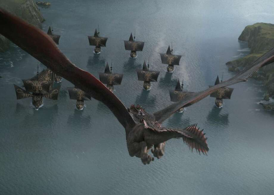 Qyburn's been busy arming the Iron Fleet with improved versions of his scorpion, a dragon-killing weapon. Photo: CBSI/CNET