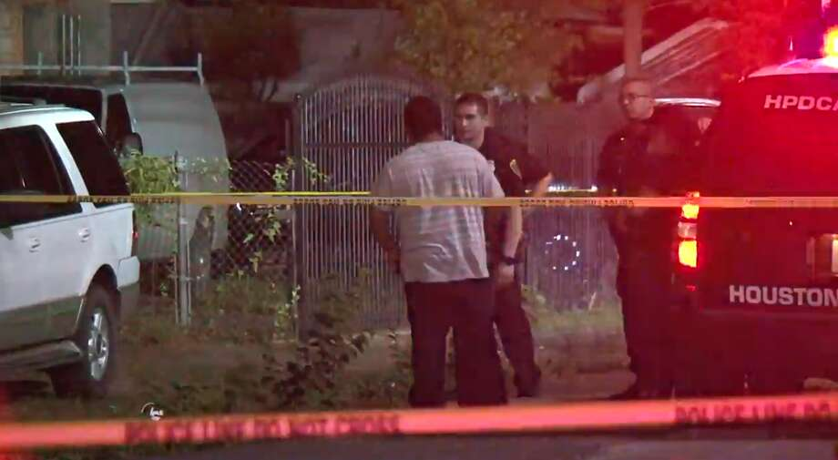 Two suspects are at large after a home invasion and shooting Sunday night in southeast Houston. The homeowner was hospitalized with multiple gunshot wounds, Metro Video reported. Photo: Metro Video