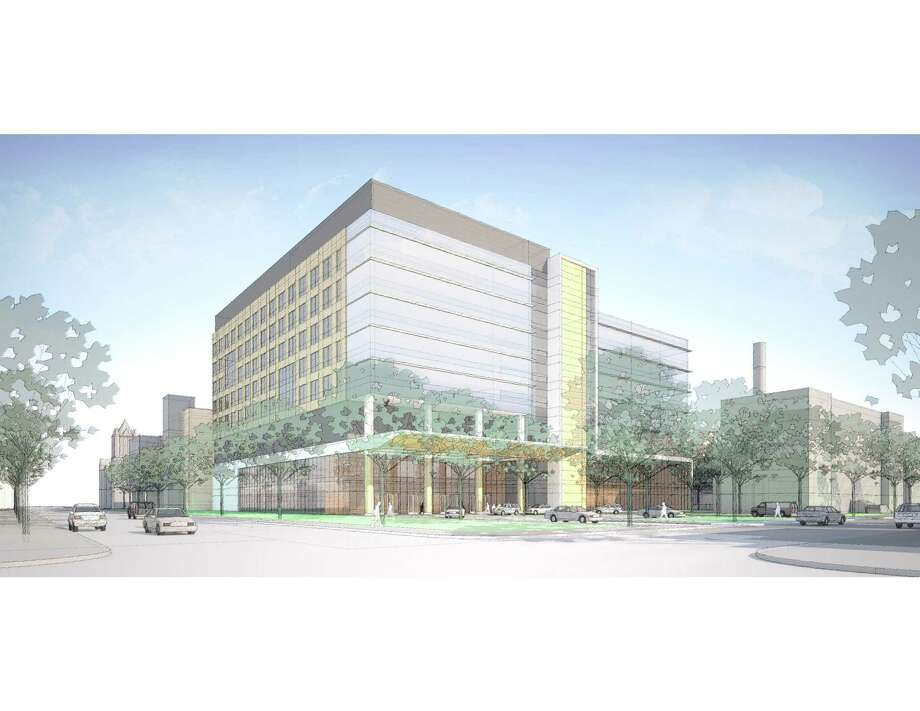 A new Neuroscience Center will be built at the St. Raphael campus of Yale New Haven Hospital in New Haven. Photo: Yale New Haven Health / Contributed Artwork