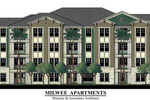 Apartment complex planned for 5310 Milwee Street.