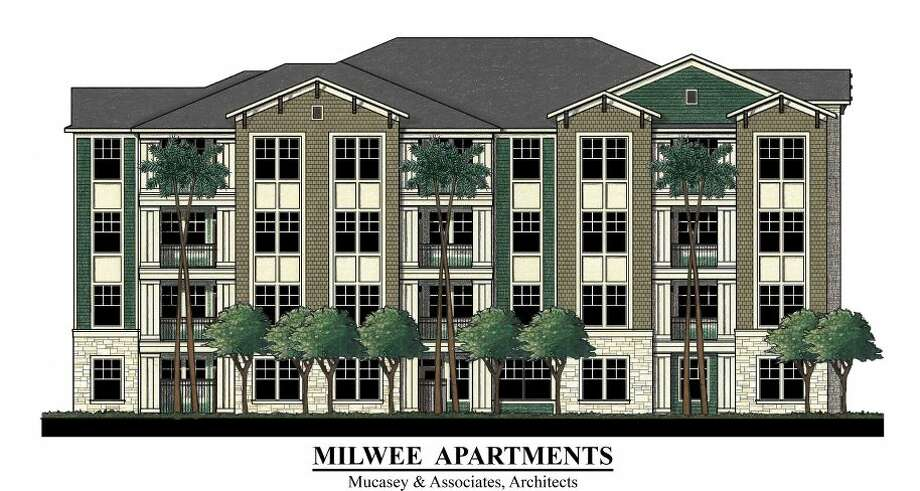 Apartment complex planned for 5310 Milwee Street. Photo: Courtesy Of Dakota Enterprises