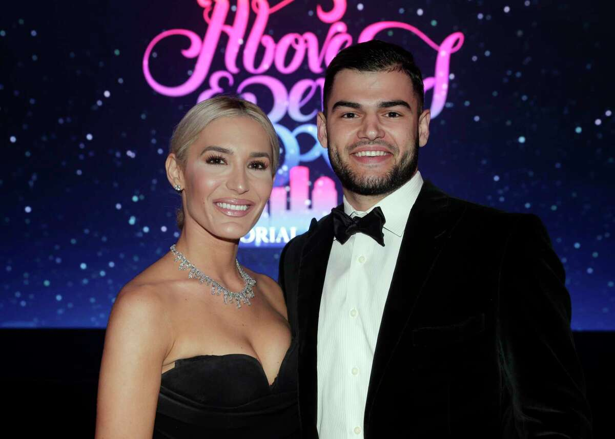 """Kara and Lance McCullers at the Memorial Hermann annual """"Circle of Life"""" Gala held at the Hilton Americas Saturday, May. 4, 2019 in Houston, TX."""