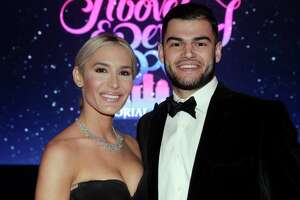 """EMBARGOED FOR REPORTER UNTIL MAY 7 Kara and Lance McCullers at the Memorial Hermann annual """"Circle of Life"""" Gala held at the Hilton Americas Saturday, May. 4, 2019 in Houston, TX."""