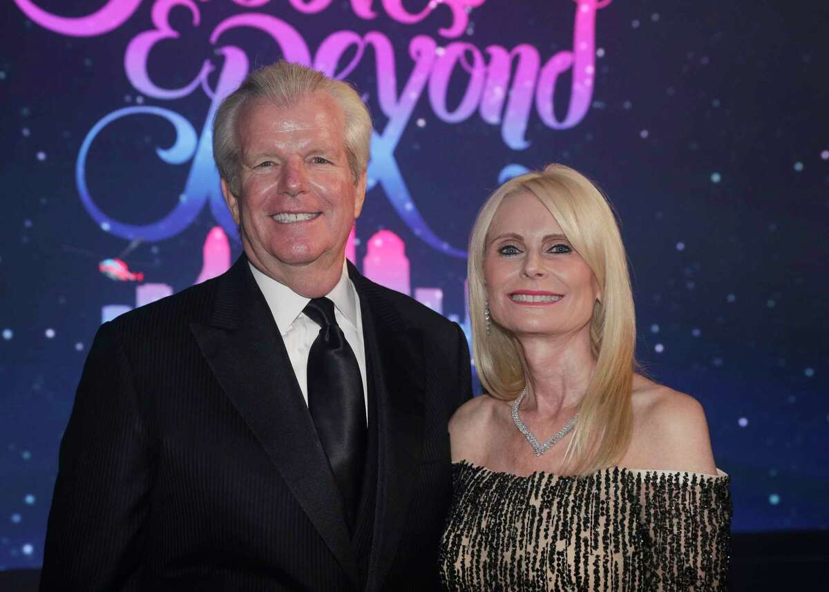 """Gregg and Jo Lynn Falgout at the Memorial Hermann annual """"Circle of Life"""" Gala held at the Hilton Americas Saturday, May. 4, 2019 in Houston, TX."""