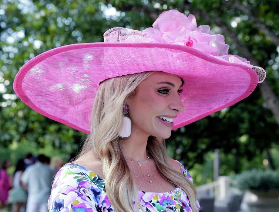 """Chita Craft at the annual """"Hats Hearts and Horsehsoes"""" Kentucky Derby party benefiting Bo's Place hosted by Fertitta family Saturday, May. 4, 2019 in Houston, TX. Photo: Michael Wyke, Contributor / © 2019 Houston Chronicle"""