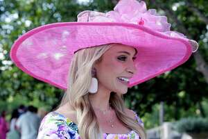 """EMBARGOED FOR REPORTER UNTIL MAY 7 Chita Craft at the annual """"Hats Hearts and Horsehsoes"""" Kentucky Derby party benefiting Bo's Place hosted by Fertitta family Saturday, May. 4, 2019 in Houston, TX."""