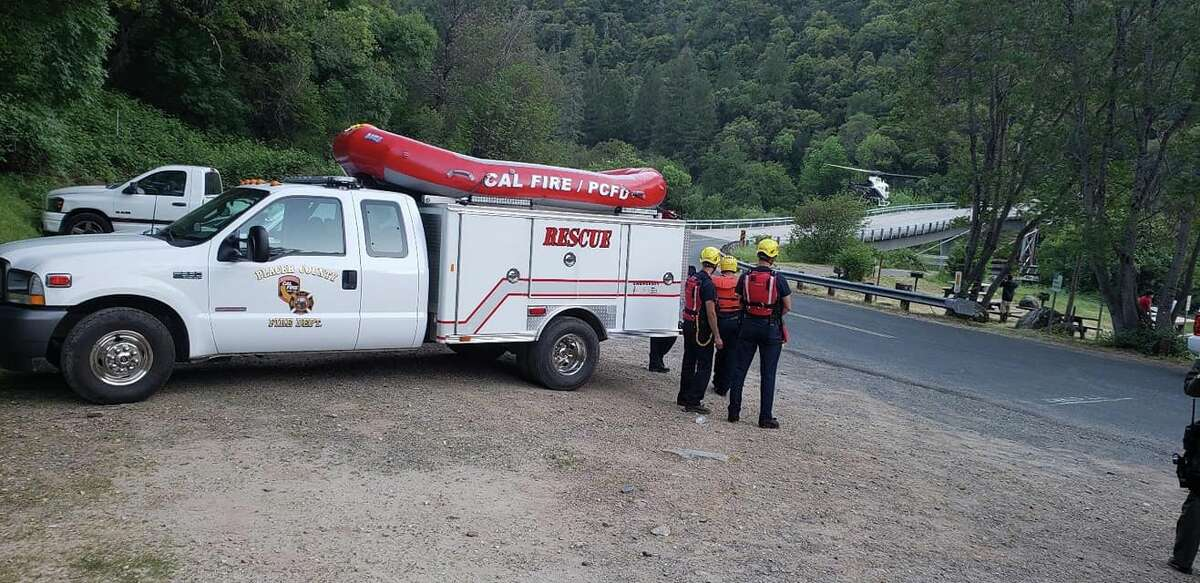 The California Highway Patrol, Cal Fire's Nevada Yuba Placer unit, State Parks, the Placer County Sheriff and the Colfax Fire Department responded to a rafting accident on Sat., May 4, 2019.